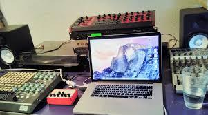 Home Studio Mixing Desk by Machines Domestik Log