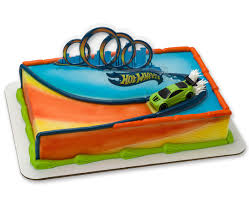 hot wheels cake toppers hot wheels cake decorating supplies cakes