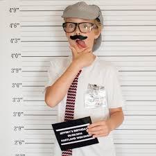 mugshot backdrop party printable mug photo booth backdrop and prop