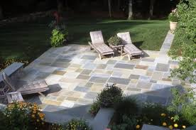Blue Stone Patios Flagstone Patio Wilton Ct Photo Gallery Landscaping Network