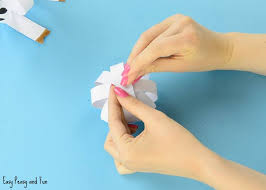 Paper Craft Steps - easy paper cow craft farm animal craft ideas easy peasy and