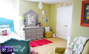 Girls Room The Big Room Redo Sincerely Sara D