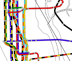 Mta Subway Map Nyc by The Lost Nyc Subway Map That May Vastly Improve Modern Ones Wired