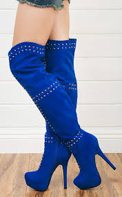 s boots with heels 126 best blue boots images on blue boots shoes and shoe