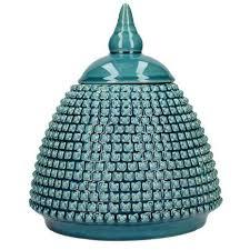 What Is Ginger Jars Deco Charm Teal Ginger Jar Dunelm