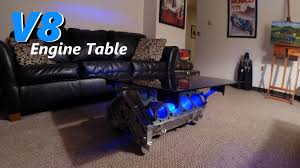 livingroom table ls coffee table chevy chevrolet ls engine block table garage car part