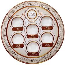 messianic seder plate passover disposable seder plate only at holyland marketplace