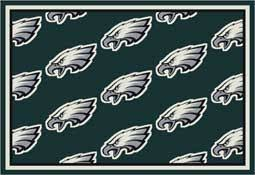 philadelphia eagles nfl area rugs mats u0026 carpet