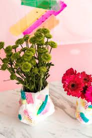 paper mache diy flower vase u2013 a subtle revelry
