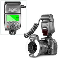 neewer macro ring led light neewer macro ttl ring flash light with af assist l for nikon