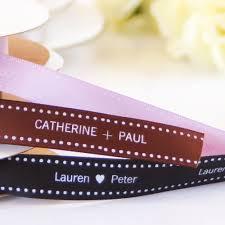 personalized wedding ribbon 31 best custom ribbon images on custom ribbon