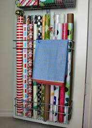 hanging gift wrap organizer the door wrapping paper storage my web value