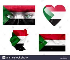 Old Sudan Flag Set Of Various Sudan Flags Stock Photo Royalty Free Image