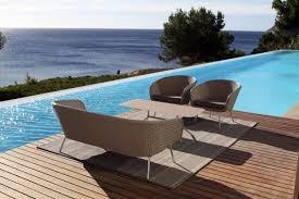Designer Patio Furniture Shell Easy Chair Shell Collection Fueradentro Outdoor Design