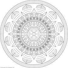Coloriages Delie Mandala S Pour Mandalas Pages Coloriage A Imprimer
