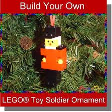 brickcrafts build your own lego soldier nutcracker