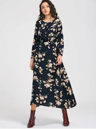 floral maxi dress sleeve buttons tiny floral maxi dress cadetblue maxi dresses