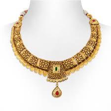 gold antique necklace set images Necklace antique gold choker necklace set jpg