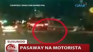 beating the red light susunod sa 24orasweekend hulicam suv na nakatama na ng motorsiklo