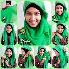 tutorial hijab segitiga paris simple 95 jpg