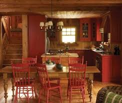 Rustic Painted Kitchen Cabinets by Best 20 Red Kitchen Cabinets Ideas On Pinterest Red Cabinets