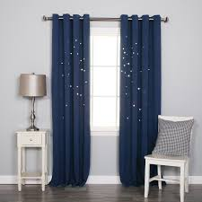 Navy Blue Curtains Navy Blue Curtains For Bedroom Stribal Home Ideas
