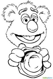 muppet show drumming muppet show coloring pages