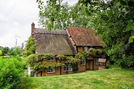 cottage house half timbered buildings stock photos pictures royalty free half