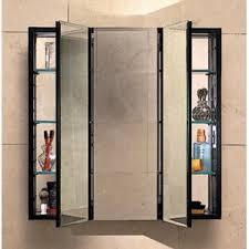 Wall Mount Medicine Cabinets Modern Tri View Medicine Cabinets Allmodern