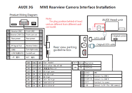 rear view camera install for mmi 3g