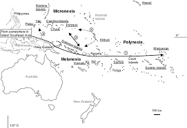 Map Of Oceania Complex Origins Of Breadfruit Artocarpus Altilis Moraceae