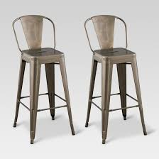 cool idea metal barstool bar stools with back target wood seat