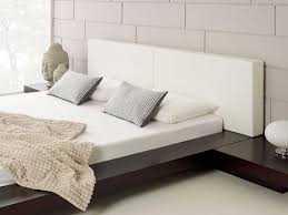 modern bedroom furniture harmonia walnut platform bed living it up