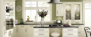 green and cream kitchen home design inspirations