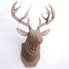 13 best wooden deer puzzles wall decoration images on