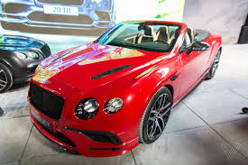bentley an up close look at bentley u0027s 209 mph continental supersports