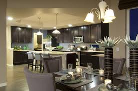 floor plans for open concept homes kitchen kitchen dining and living room design home ideas small