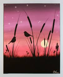 best 25 acrylic painting canvas ideas on pinterest paint night