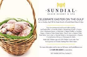 Easter Brunch Buffet Menu by Easter Brunch On The Gulf Sundial Beach Resort U0026 Spa