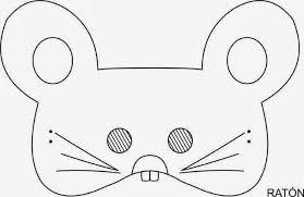 imagenes de ratones faciles para dibujar maestra de infantil caretas de animales para colorear e imprimir