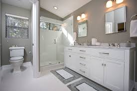 white and gray bathroom ideas contemporary gray white bathroom remodel contemporary