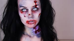zombie makeup tutorial how to do easy zombie makeup youtube