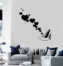 vinyl wall decal fashion shoes shop style woman decor stickers vinyl wall decal fashion shoes shop style woman decor stickers mural ig068