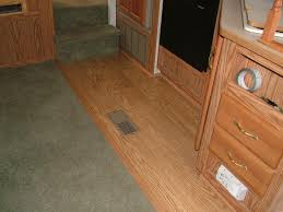 How To Lay Laminate Flooring Around Doors Rv Laminate Flooring Modmyrv