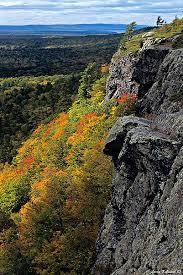 Michigan Mountains images Escarpment trail porcupine mountains wilderness state park lake jpg