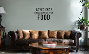 nerdy home decor boyfriend that u0027s a funny way to say food vinyl wall mural decal