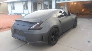 nissan 350z queens ny anthracite grey plasti dipped nissan 370z matte youtube