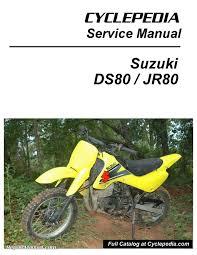 suzuki ds80 jr80 motorcycle cyclepedia printed service manual