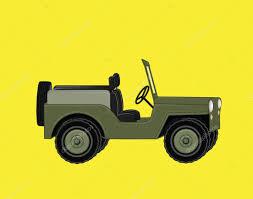 jeep cartoon offroad open jeep car u2014 stock vector baavli 126900450