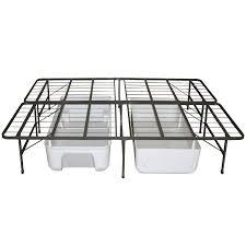 bedroom foldable platform queen size metal frame beds frames